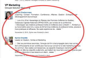 LinkedIn_recommandations